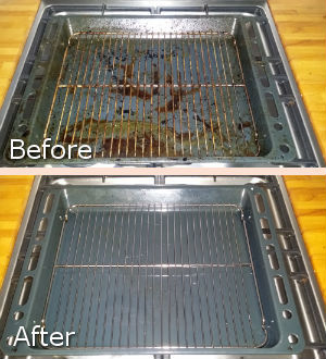 Cooker Cleaning Before After